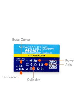 1 day acuvue moist for astigmatism 30 info uk 247x296 - Acuvue Moist for Astigmatism 30 Pack