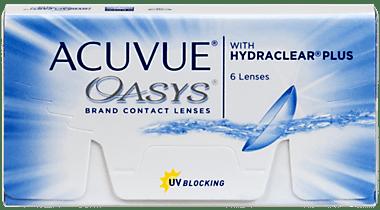 Acuvue Oasys 1 - Acuvue Oasys Pack of 6