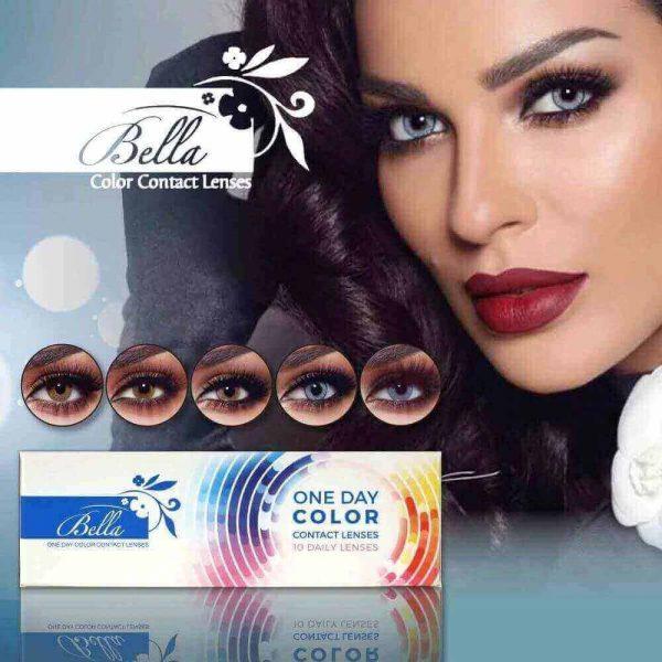 Bella One Day Al Waleed Optics 600x600 - Bella One Day Lenses