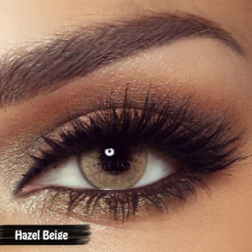 Bella One Day Hazel Beige Alwaleed Optics 510x510 - Bella One Day Contact Lenses