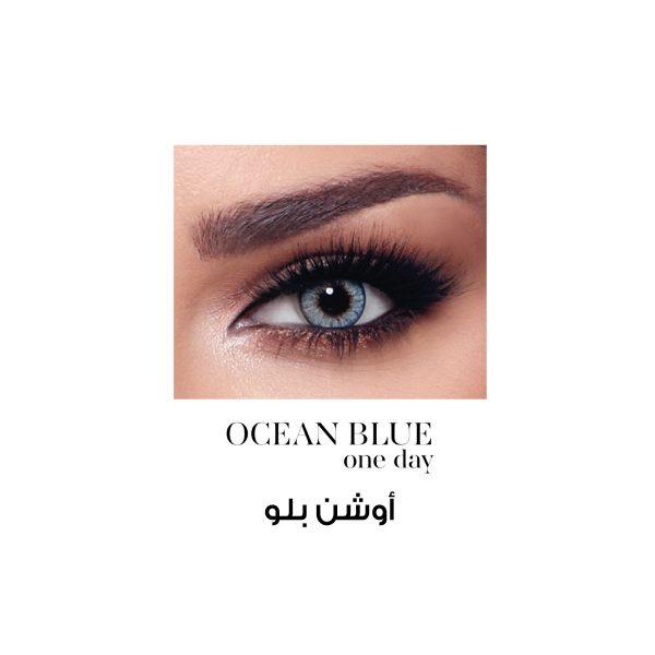 Bella One Day Ocean Blue Al Waleed Optics 2 600x600 - Bella One Day Lenses