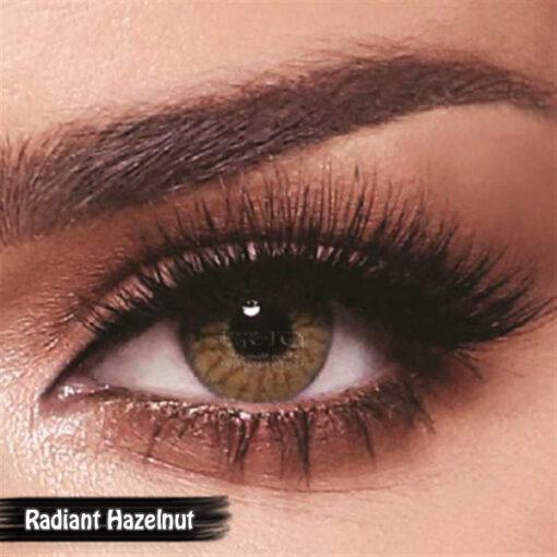 Bella One Day Radiant Hazelnut Alwaleed Optics 510x510 - Bella One Day Contact Lenses