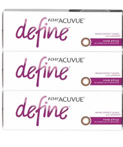 acuvue define vivid style 90 pack 247x296 - Acuvue Define Brown