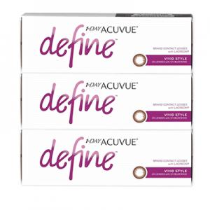 acuvue define vivid style 90 pack 300x300 - Acuvue Define Brown