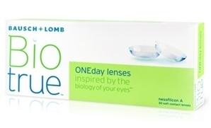 biotrue oneday 30 - Bio True Daily 30pack