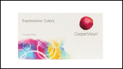 cooper vision expression colors contact lens 3 lens box3 510x289 - Expressions Colors