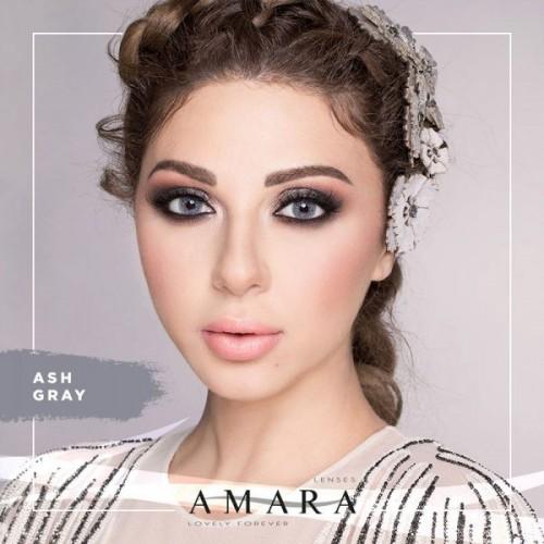 Amara Ash Gray Al Waleed Optics - Amara Contact Lenses