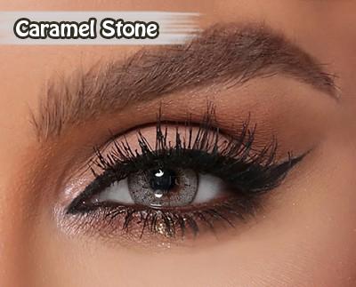 Amara Caramel Stone Al Waleed Optics 2 - Amara Contact Lenses