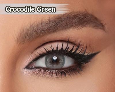 Amara Crocodile Green Al Waleed Optics 2 - Amara Contact Lenses