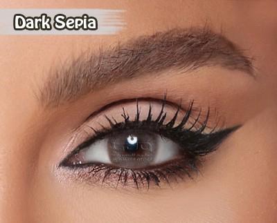 Amara Dark Sepia Al Waleed Optics 2 - Amara Contact Lenses
