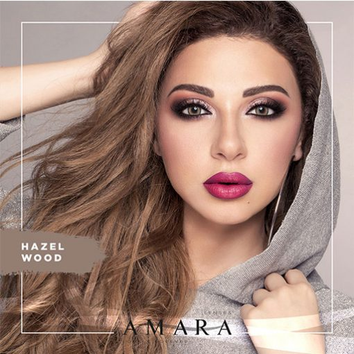 Amara Hazel Wood Al Waleed Optics 510x510 - Amara Contact Lenses