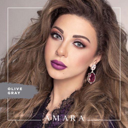 Amara Olive Gray Al Waleed Optics 510x510 - Amara Contact Lenses