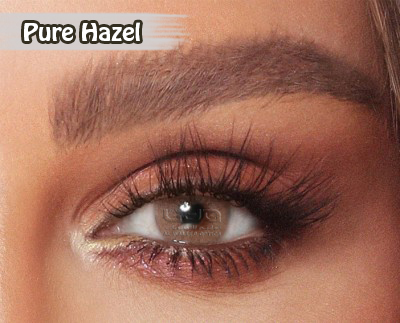 Amara Pure Hazel Al Waleed Optics - Amara Contact Lenses