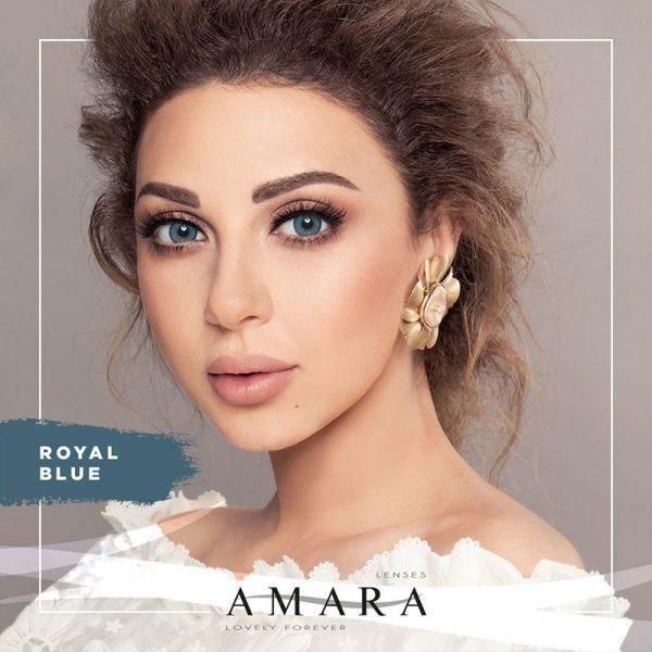 Amara Royal Blue Al Waleed Optics 600x600 - Amara Contact Lenses