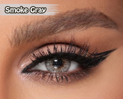 Amara Smoke Gray Al Waleed Optics - Amara Contact Lenses