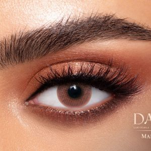 Dahab Gold One Day Marron Al Waleed Optics 2 300x300 - Dahab One Day Maroon