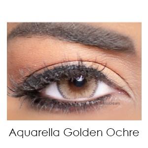 aquarella golden ochre - Solotica Aquarella Golden Ochre