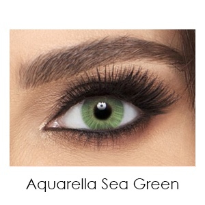aquarella sea green - Air Optix Colors Green